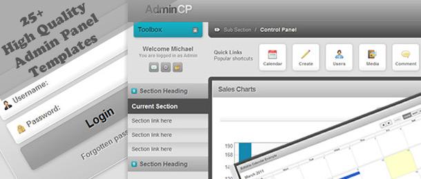 Admin Panel Css Admin Panel Templates