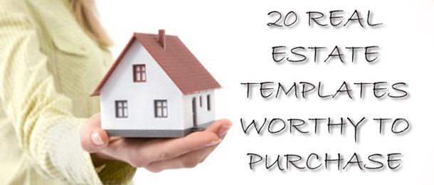20 Real Estate Templates Worthy to Purchase