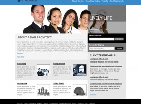 Asian Architects &#8211; Free Professional HTML Responsive Template