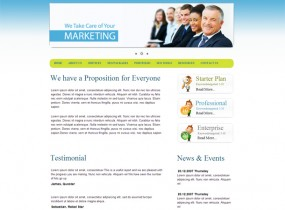 Media Market &#8211; Free Corporate HTML Responsive Template