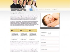 Take Care  Free HTML Responsive Clinical Website Template