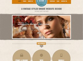 Vintage Immersed &#8211; Multipurpose HTML Template