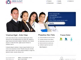 Web Clout, Multipurpose HTML Website Template