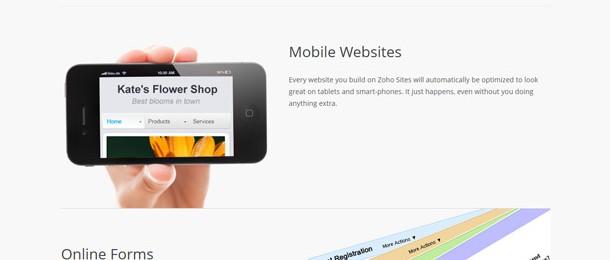 www.zoho.com/sites