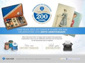 www.coatsandclark200years.com
