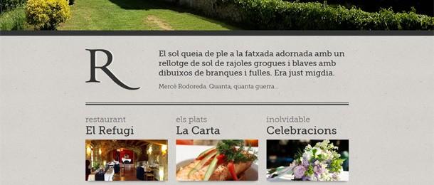 restaurant-elrefugi.com/ca