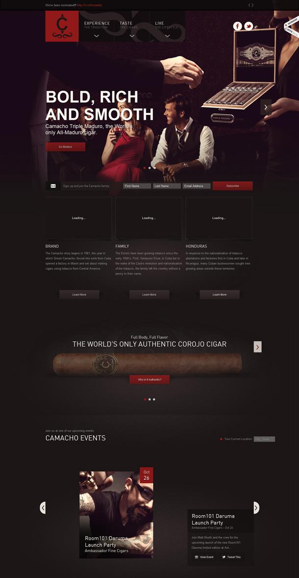 camachocigars.com