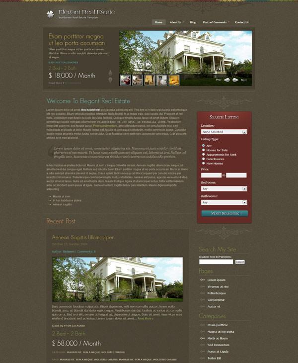 elegant real estate
