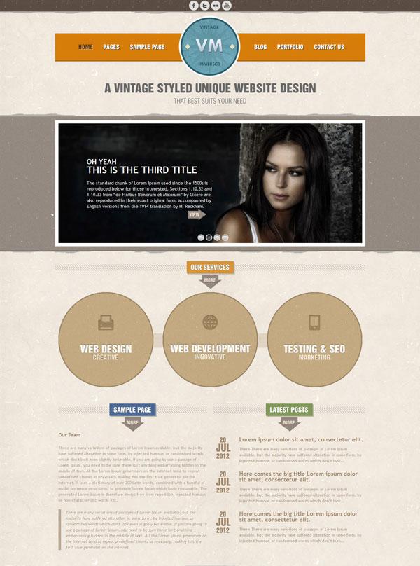 VM Default Homepage