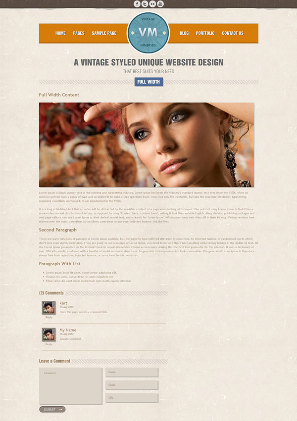 VM Full-width Page