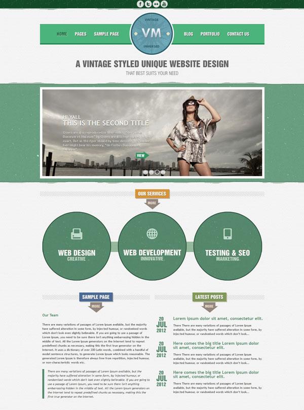 VM Green Homepage